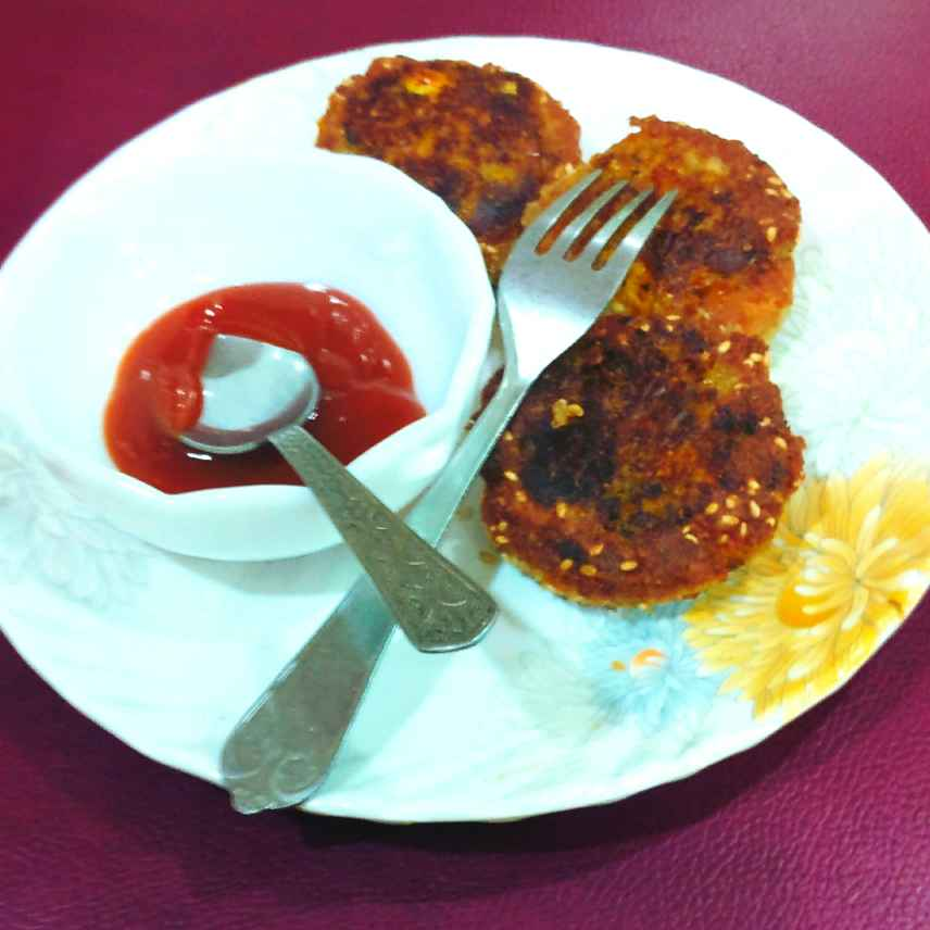 Photo of Fresh Corn Chivada Stuffed Paneer and Bread Cutlets.  by Manisha Shukla at BetterButter