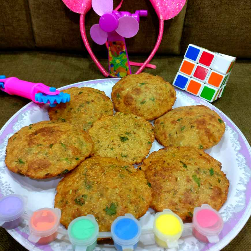 How to make Cauliflower Chole Poori. ( Innovative Recipe For Kids Party. )