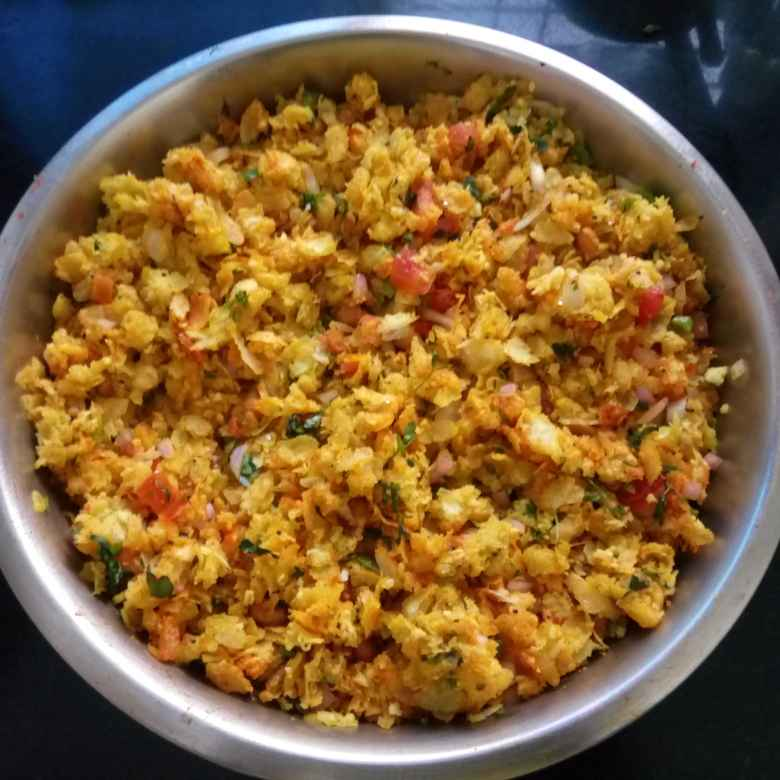 How to make Dadpe pohe