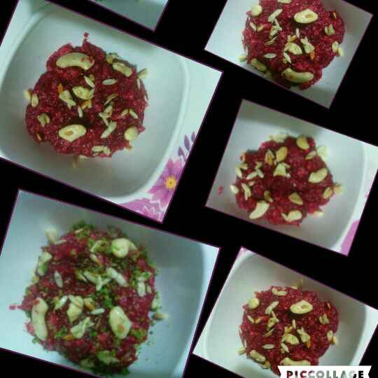 Photo of Beetroot & apple dessert by Manju Bansal at BetterButter