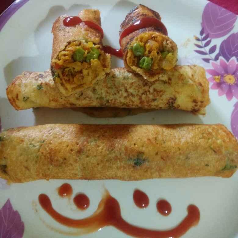 How to make Moong dal masala dosa