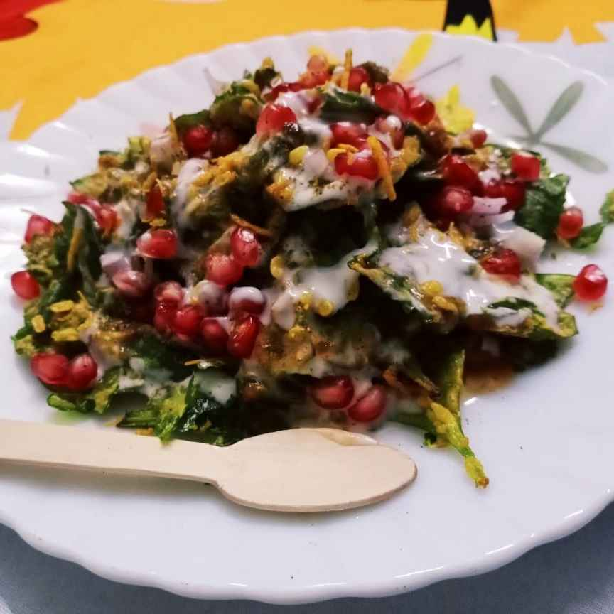 Photo of palak leaf chaat by Manju Sehrawat at BetterButter