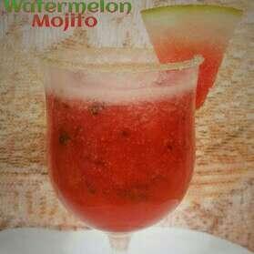 How to make Watermelon Mojito