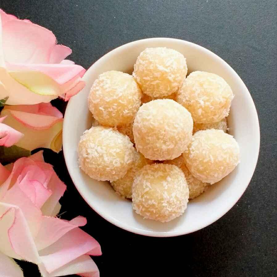 How to make Coconut Pineapple Laddoo