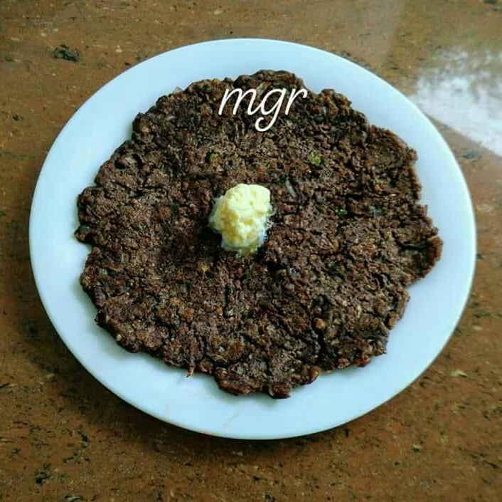 How to make Ragi roti/ bhakri