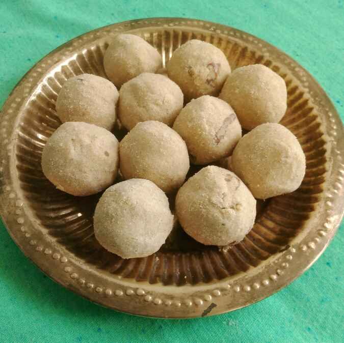 Photo of Wheat flour laddoos by manjula rao at BetterButter