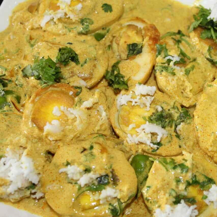 Photo of Egg Malai curry /Malai Anda by ManjuriTheChef Saha Lahiri at BetterButter