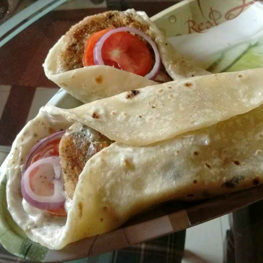 Photo of Veggie roll(Fast food style) by Manjushree Sooraj at BetterButter