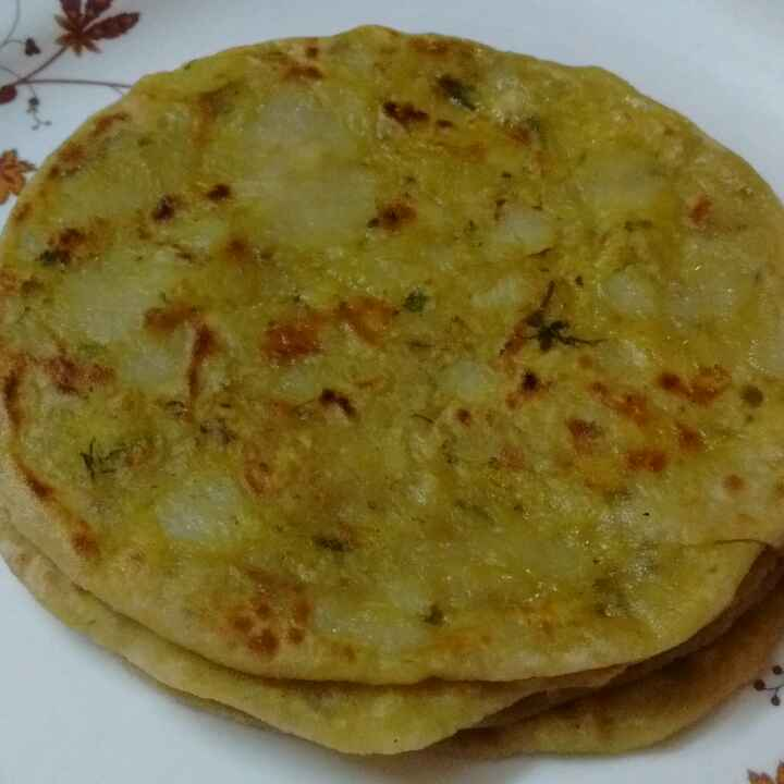 How to make Pudina Aloo Paratha