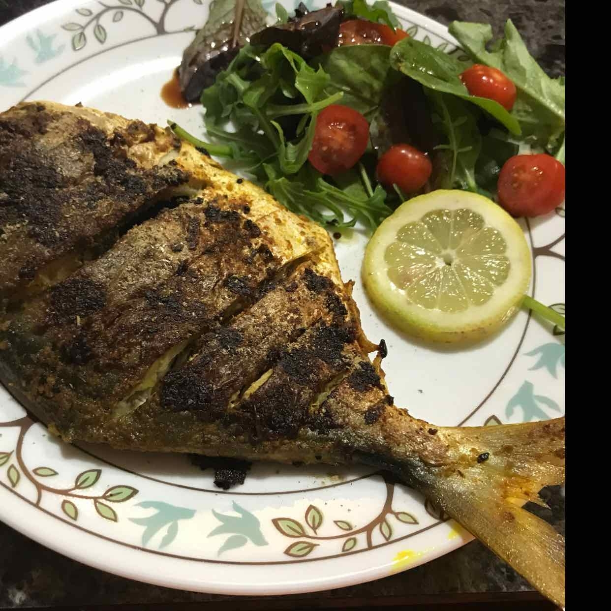 How to make Bengali style pan seared fish