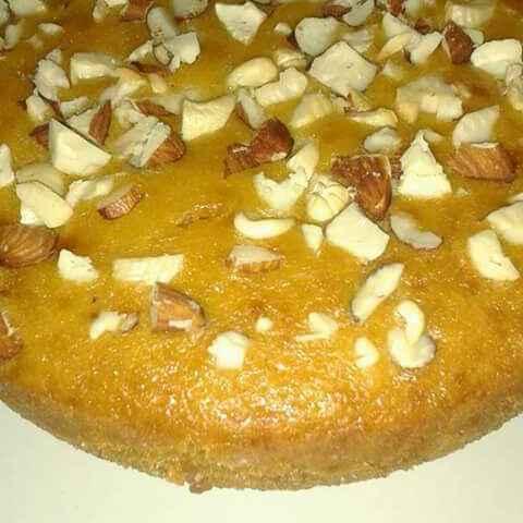How to make Custard Cake Baked in Kadahi