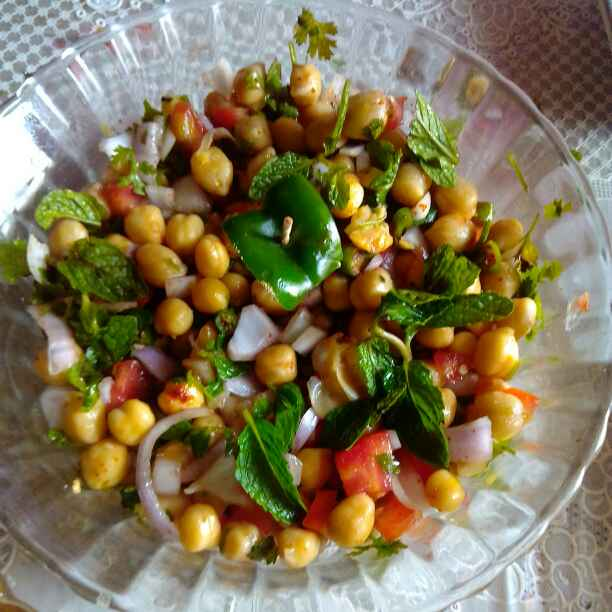 How to make Chole chat