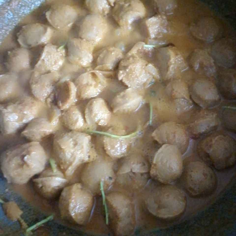 How to make Soya curry