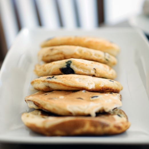 Photo of Pancakes with ricotta and blueberries by Marios Georgiou at BetterButter