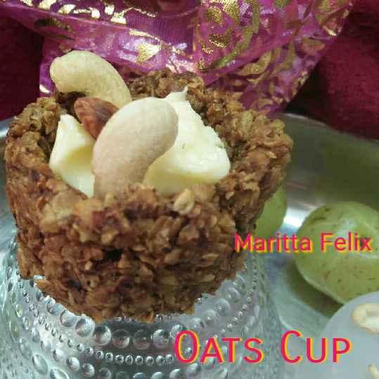 How to make Oats Cup