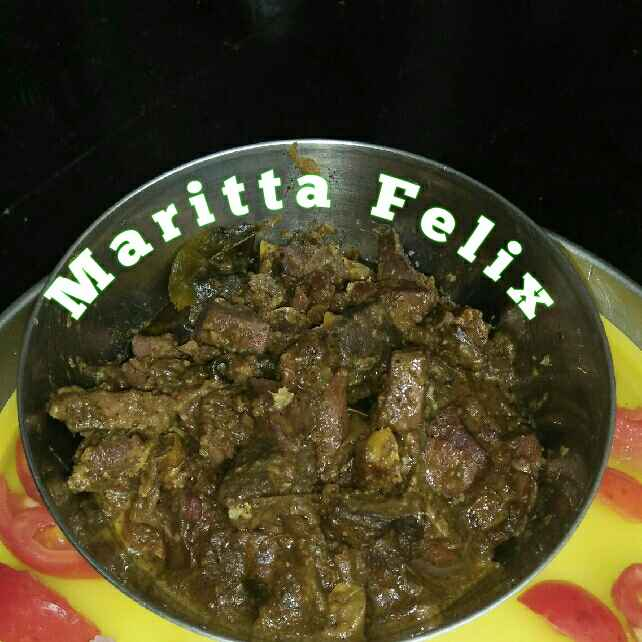 How to make Mutton Liver Pepper Fry Recipe