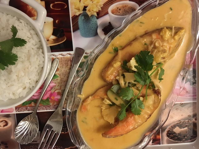 Photo of Thai coconut Fish Curry by Mariyam kagalwala at BetterButter