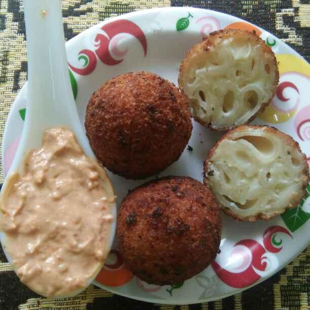 How to make Mac n cheese ball