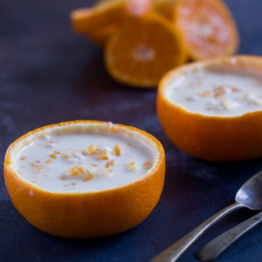 How to make Kheer Komola (Milk Pudding with Oranges)