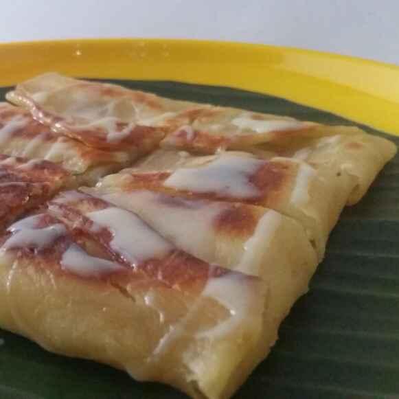 How to make Thai Banana Pancake