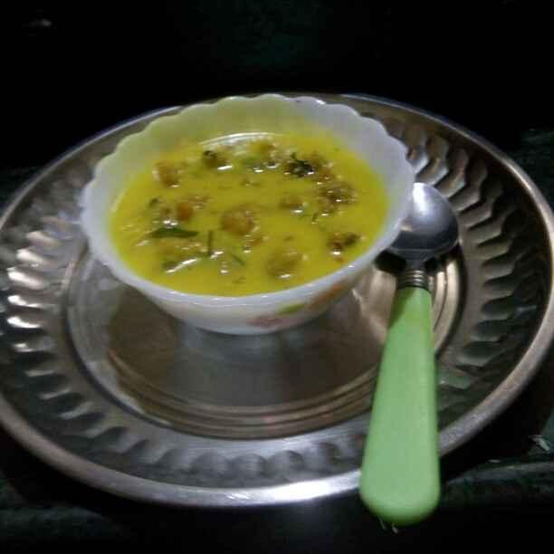 Photo of Kadhi bhaji by Maya Ghuse at BetterButter