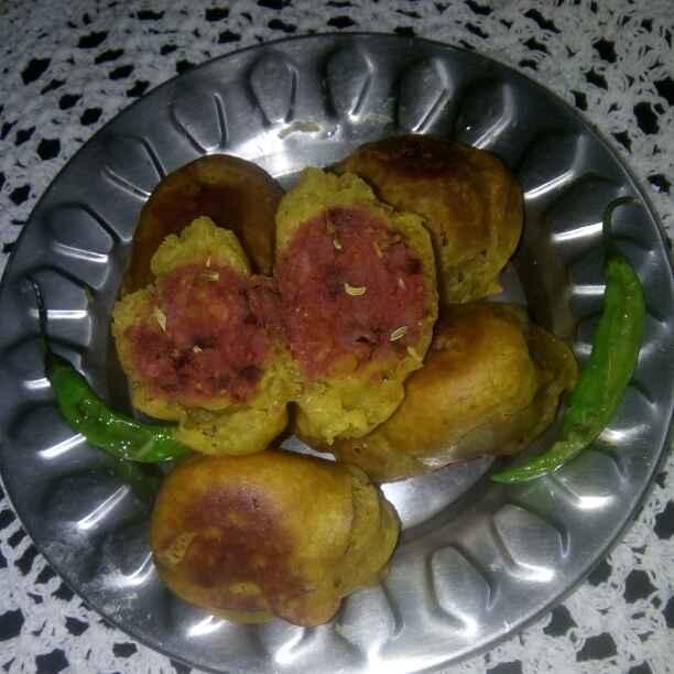 How to make Beet alubonda(