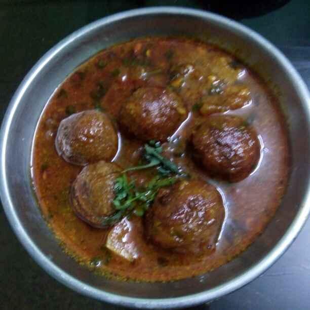 Photo of Jackfriut kofta curry by Maya Ghuse at BetterButter