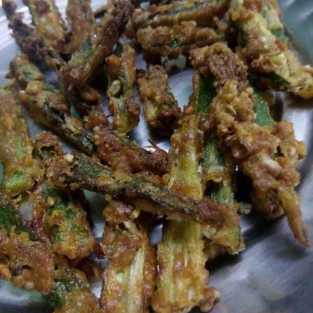 Photo of Kirspi fry Bhendi by Maya Ghuse at BetterButter