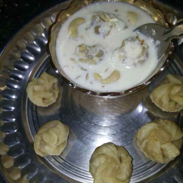 Photo of Modak-Rabdi kheer by Maya Ghuse at BetterButter