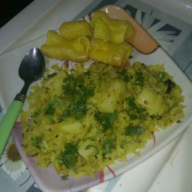 How to make Aalu poha