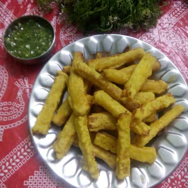 Photo of Crispy bread sticks bhaji by Maya Ghuse at BetterButter