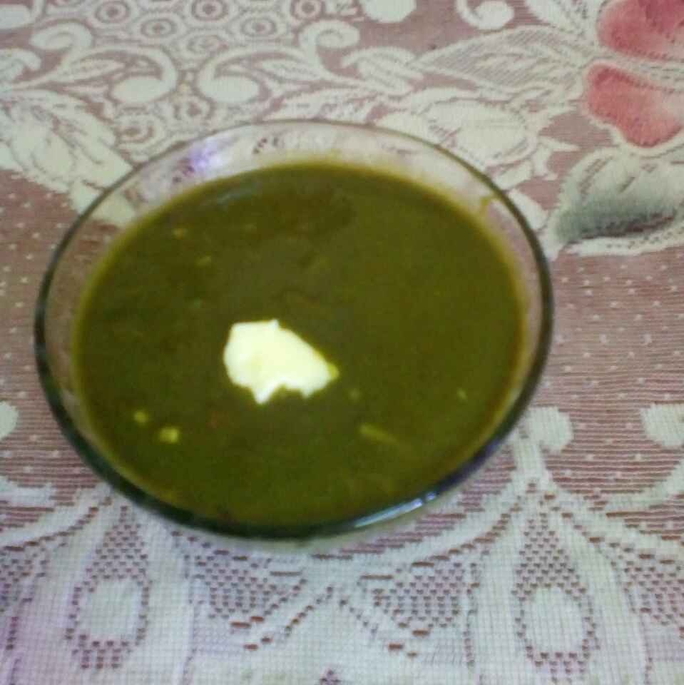 How to make Palak soup.