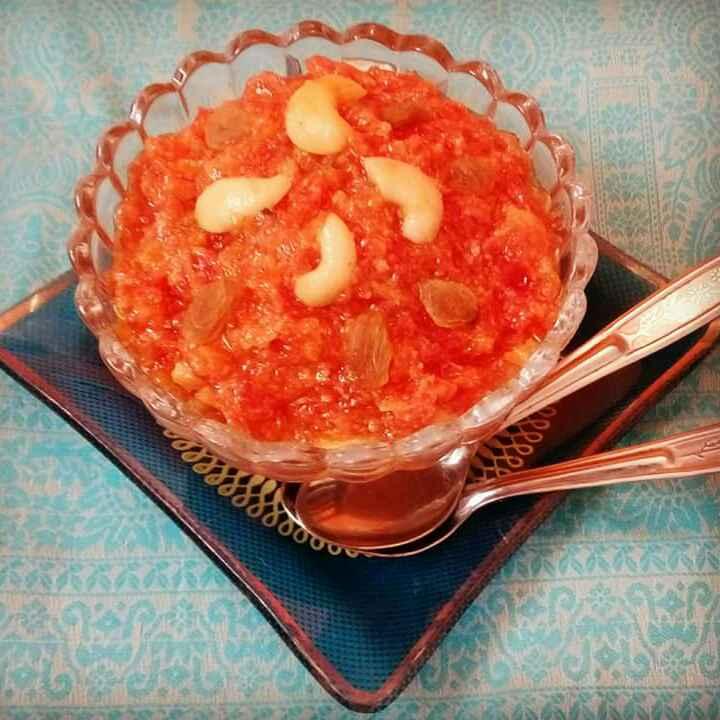 Photo of Carrot halawa by Maya Joshi at BetterButter
