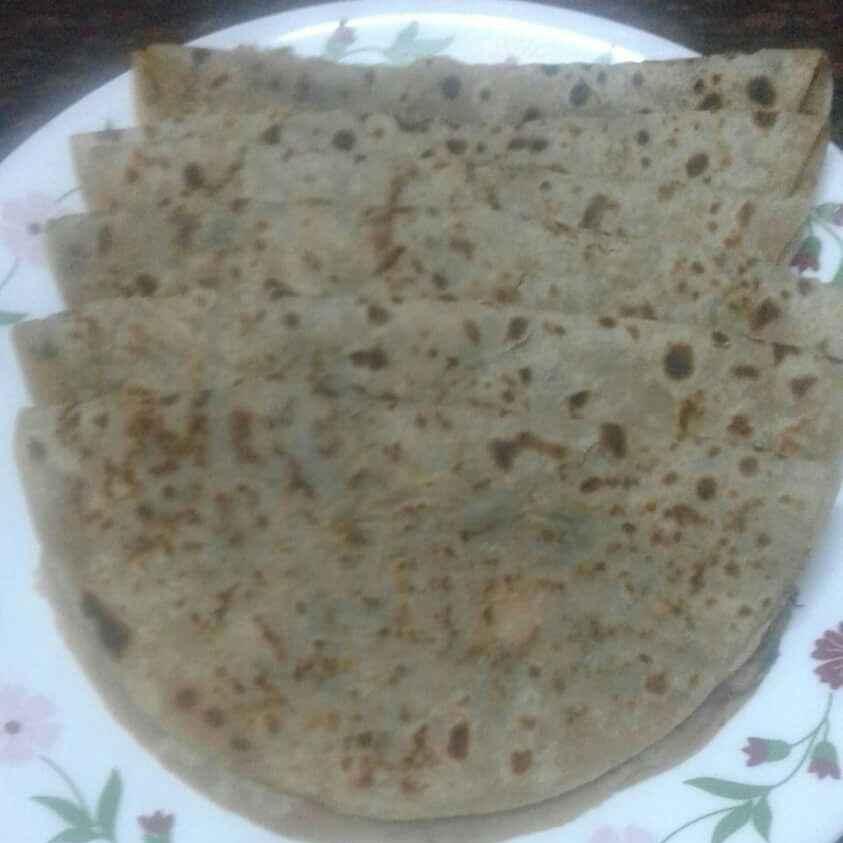 Photo of Palak paratha by Maya Joshi at BetterButter