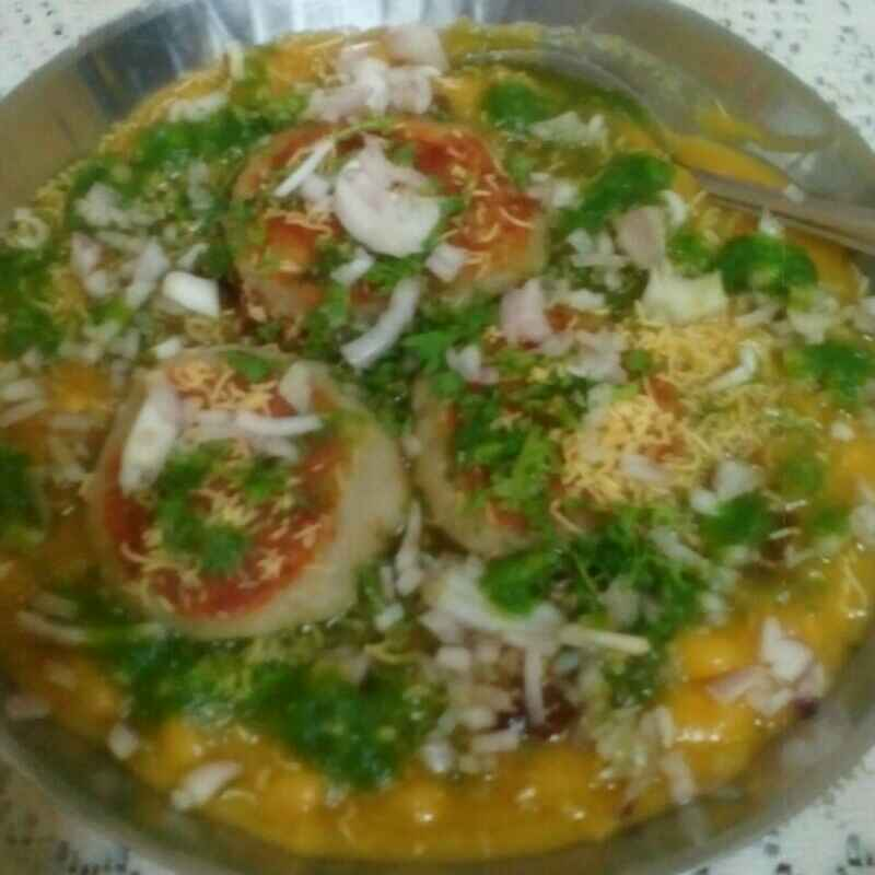 Photo of Ragda pattice by Maya Joshi at BetterButter