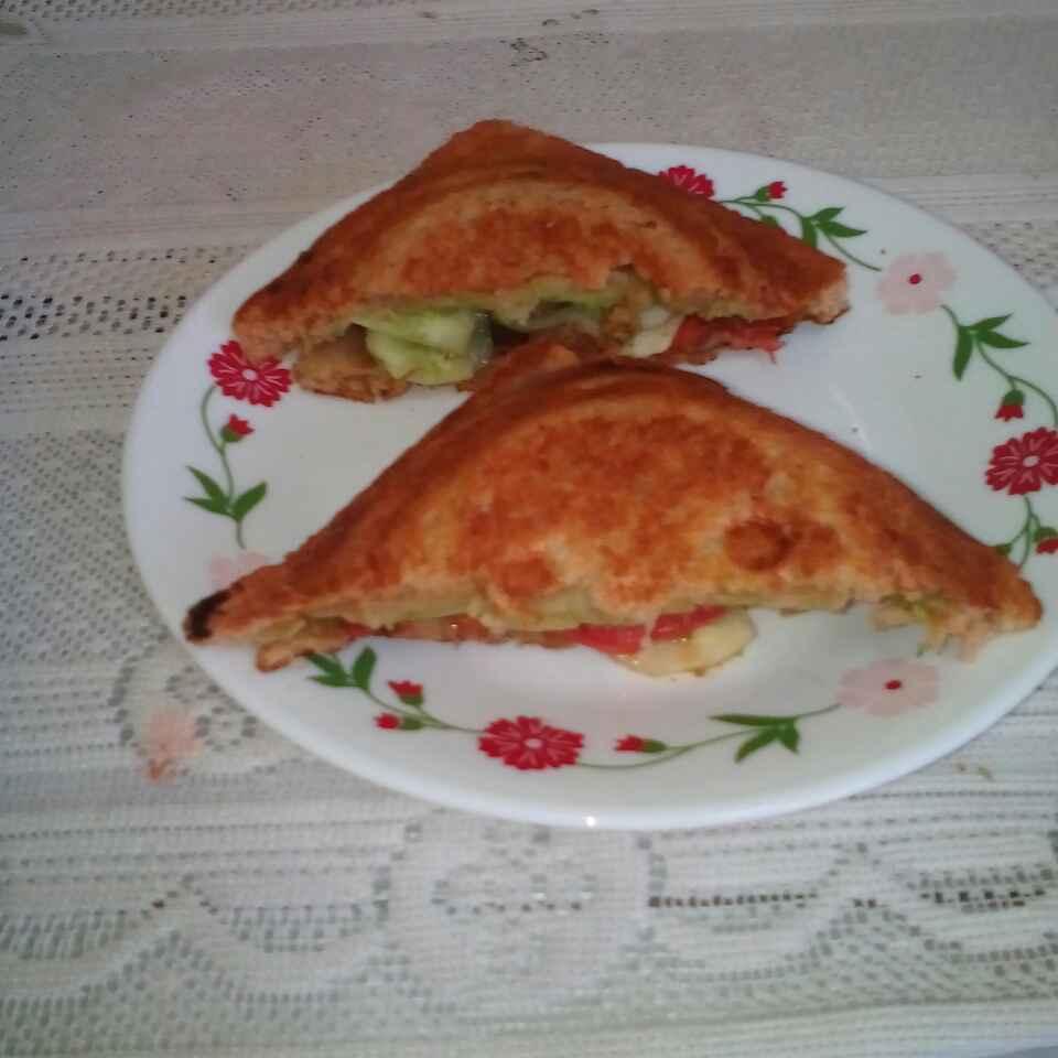How to make Veg  Sandwich