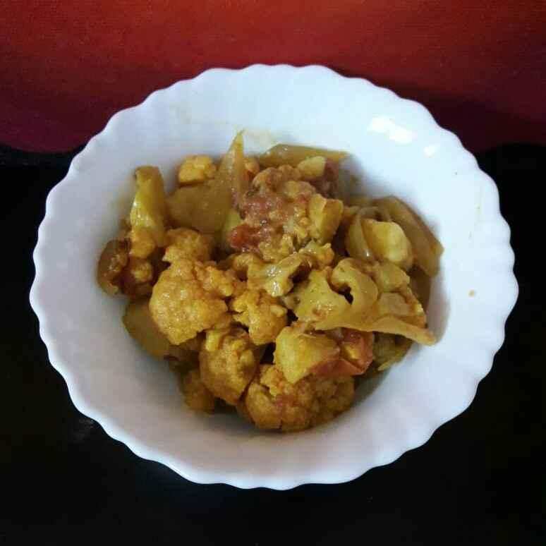 Photo of Flower potato sabji by Maya Joshi at BetterButter