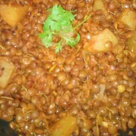 Photo of Masoor potato sabji by Maya Joshi at BetterButter