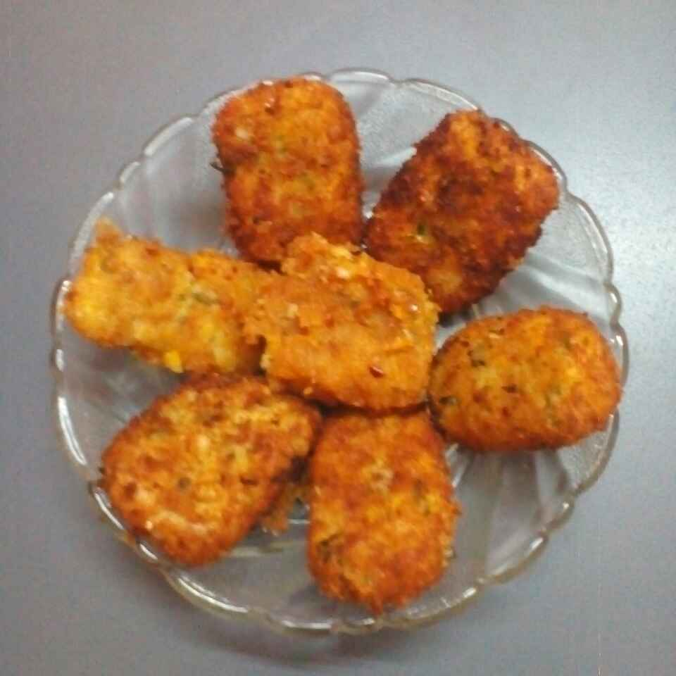 Photo of Alu, paneer, cheese cutlet by Maya Joshi at BetterButter