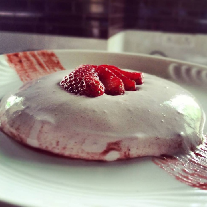 Photo of Banana Ice Cream with Strawberry compote by Mayuri Nikam at BetterButter