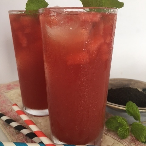 Photo of Watermelon Iced Tea by Mayuri Patel at BetterButter