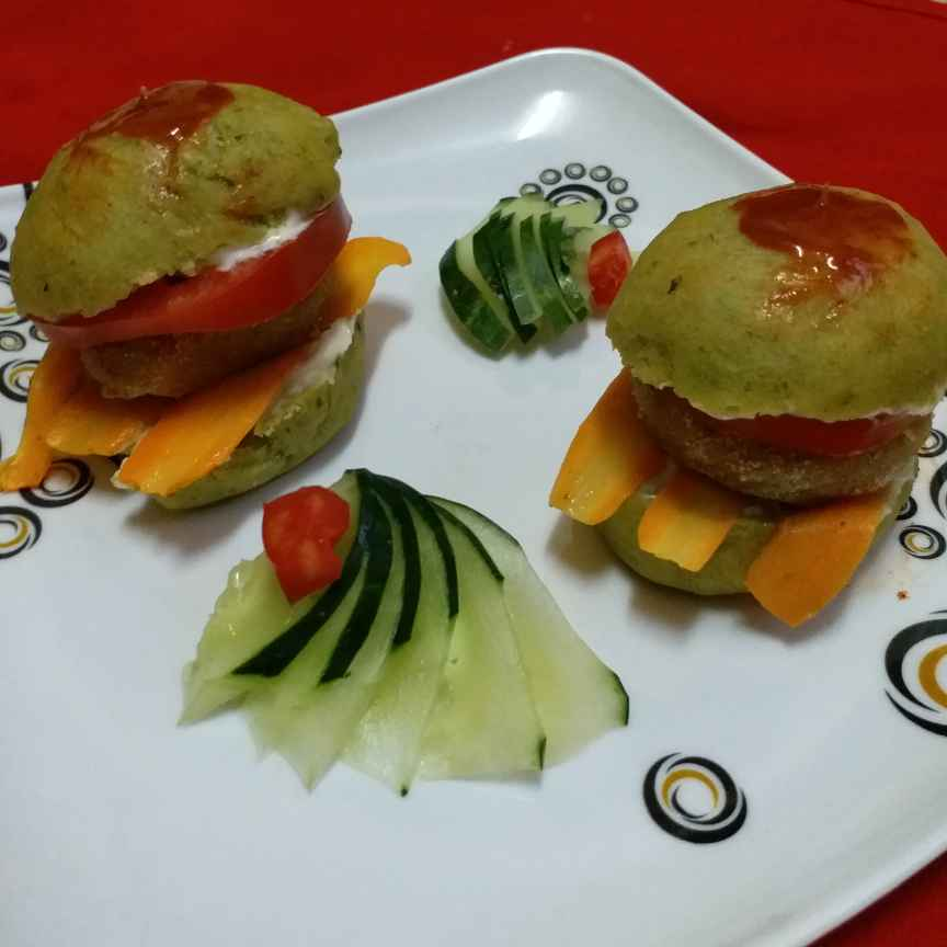 Photo of Mini veg burger by Mayuri Vora at BetterButter