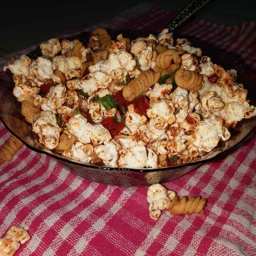 Photo of Kurkure popcorn bhel by Mayuri Vora at BetterButter