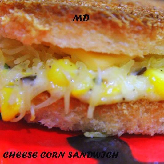 Photo of Cheese Corn Sandwich by medha devdas at BetterButter