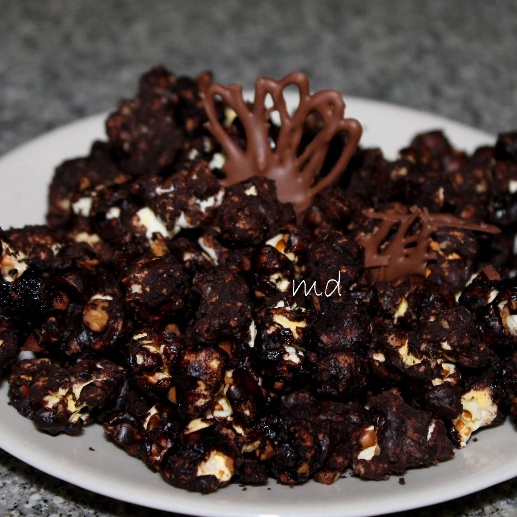 Photo of Chocolate popcorn by medha devdas at BetterButter