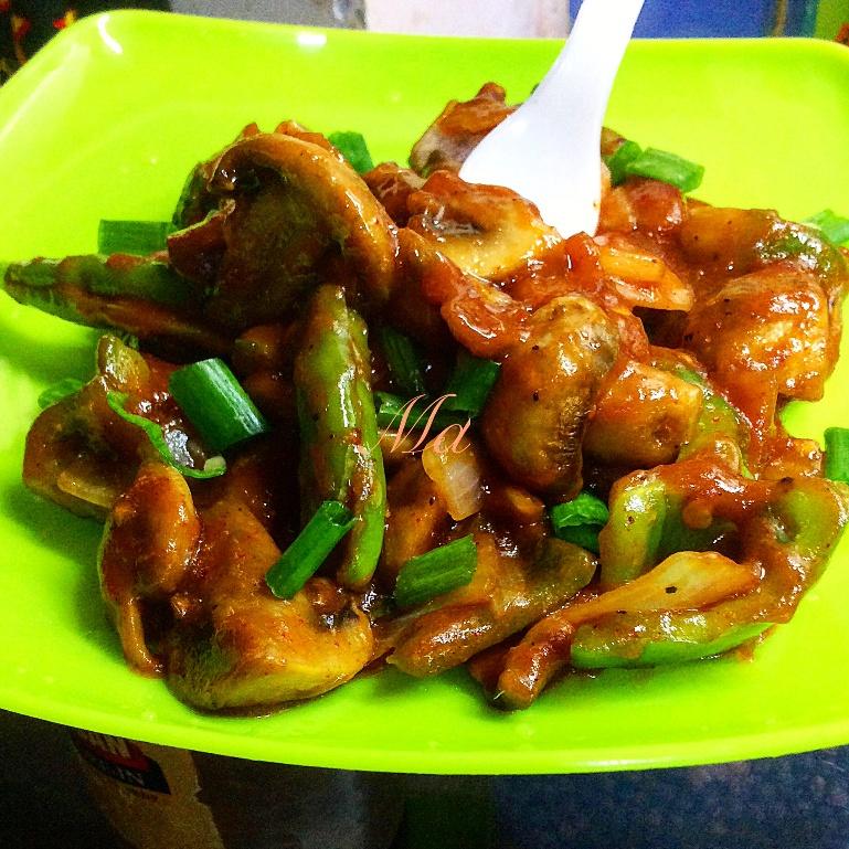 Photo of Chilli Mushroom Fried by Medha Devdas at BetterButter
