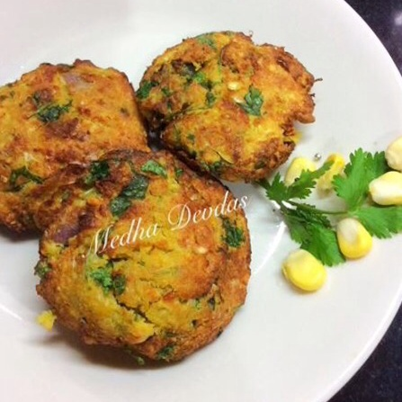 How to make Corn Vada