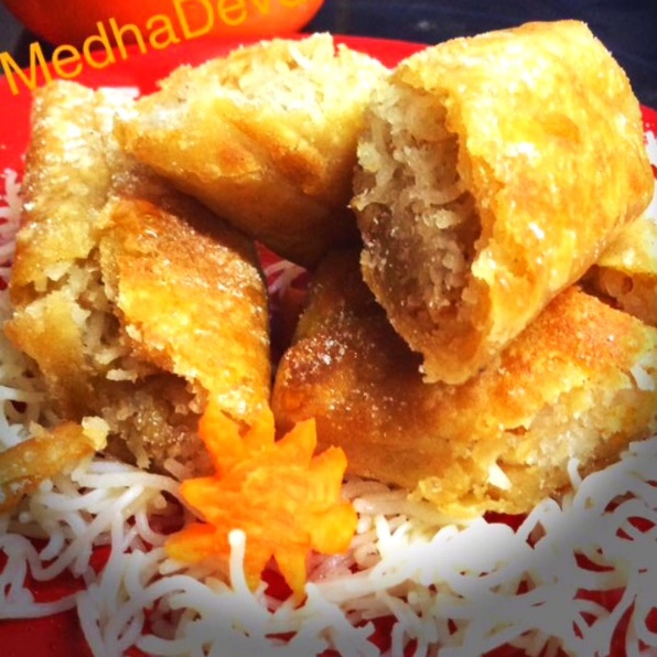 How to make Rice Vermicelli Sweet Rolls