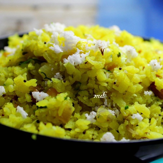 How to make Poha with Sweet corn