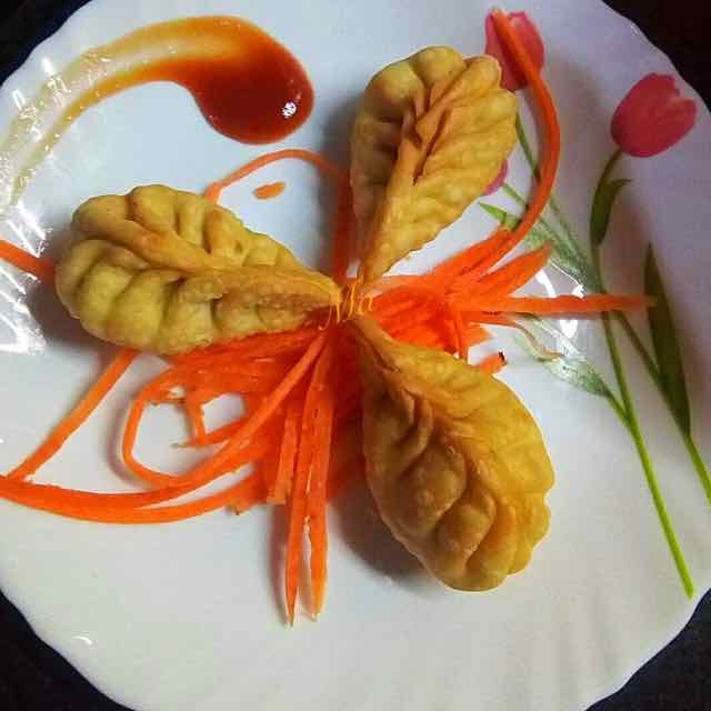 Photo of fried momos by Medha Devdas at BetterButter